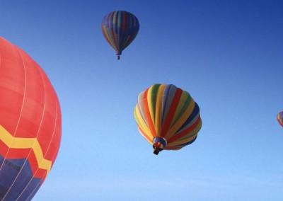 Heißluftballon Fahrt